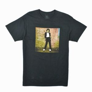 Absolute Cult  Men's Michael Jackson Graphic Tee